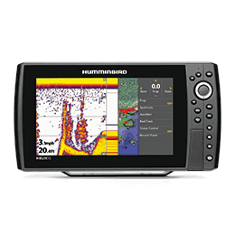i-Pilot Link virtual remote on a Humminbird HELIX unit
